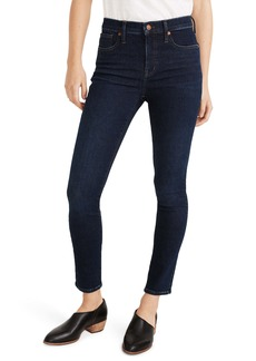 Madewell 9-Inch Mid-Rise Skinny Jeans (Orland Wash)