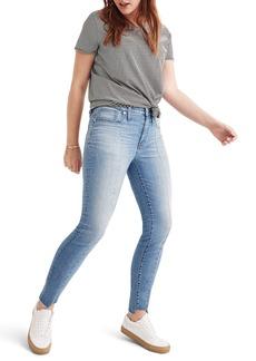 Madewell 9-Inch Seamed High Waist Step Hem Skinny Jeans (August)