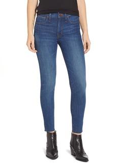 Madewell 9-Inch Skinny Jeans Raw Hem Edition (Paloma)