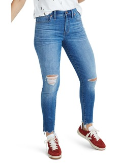 Madewell 9-Inch Torn Knee Skinny Jeans (Frankie)
