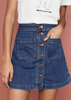 Madewell A-Line Mini Skirt