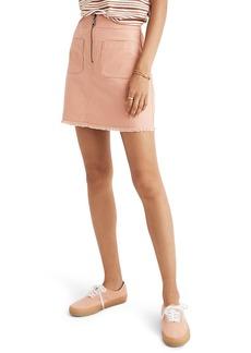 Madewell A-Line Zip Skirt