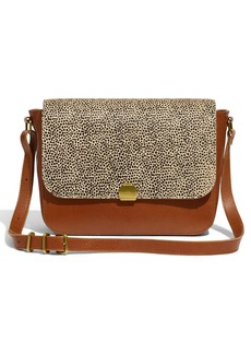 Madewell Abroad Spotted Calf Hair Shoulder Bag