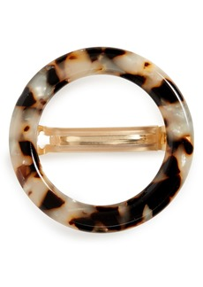 Madewell Acrylic Circle Barrette