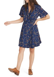 Madewell Amaranth Wrap Dress
