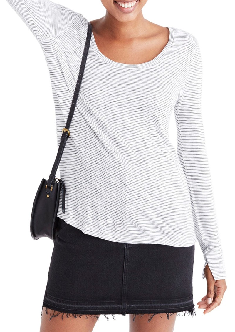e9ab3e5ff8 Madewell Madewell Anthem Stripe Long Sleeve Tee | Casual Shirts