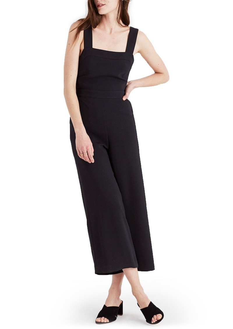 036f38e73b0 On Sale today! Madewell Madewell Apron Bow Back Jumpsuit