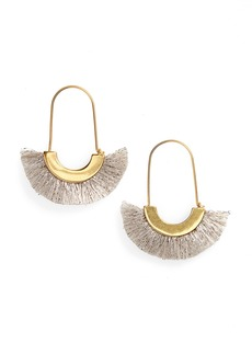 Madewell Arc Wire Fringe Earrings