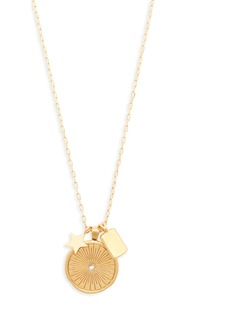 Madewell Archival Cluster Necklace