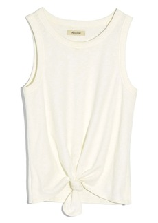 Madewell Audio Knot Front Tank