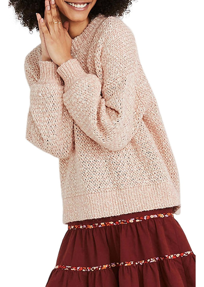 Madewell Baez Pullover Sweater