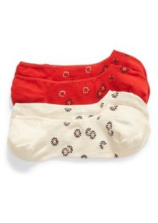 Madewell Bandana Blossoms 2-Pack Low-Profile Socks
