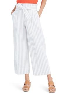 Madewell Bayside Stripe Paperbag Waist Pants