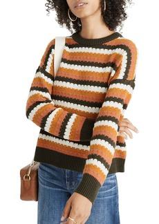 Madewell Beacontree Stripe Pullover Sweater