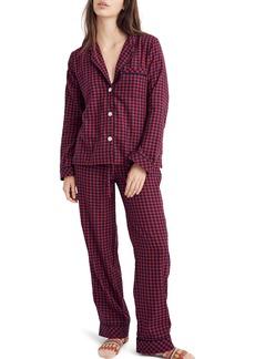 Madewell Bedtime Long Sleeve Pajama Top