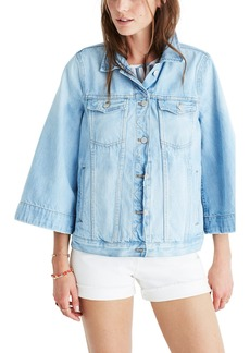 Madewell Bell Sleeve Denim Jacket
