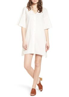 Madewell Bell Sleeve Shift Dress
