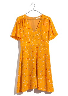 Madewell Belladonna Silk Dress