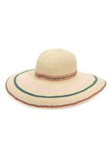 Madewell Biltmore Tulum Stripe Straw Hat