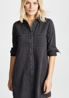 Madewell Black Denim Shirtdress