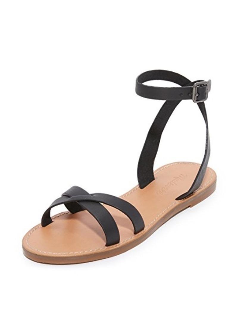 7d977fced61d Madewell Madewell Boardwalk Ankle Wrap Sandals