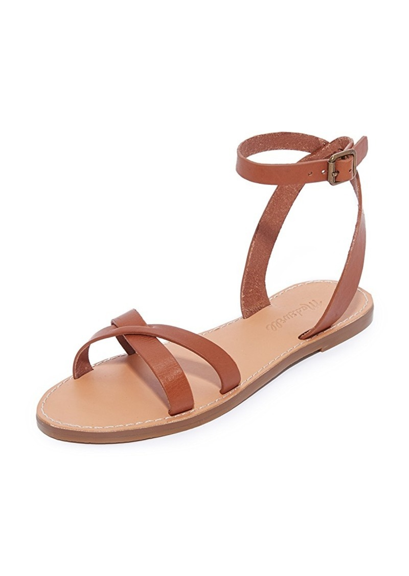 6a820316e8a8 Madewell Madewell Boardwalk Ankle Wrap Sandals Now  48.65