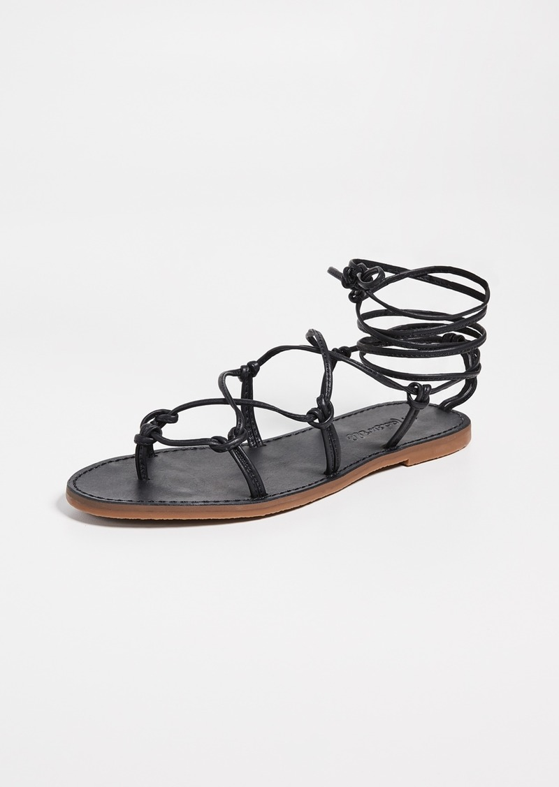 b1641992267e Madewell Madewell The Boardwalk Lace Up Sandals