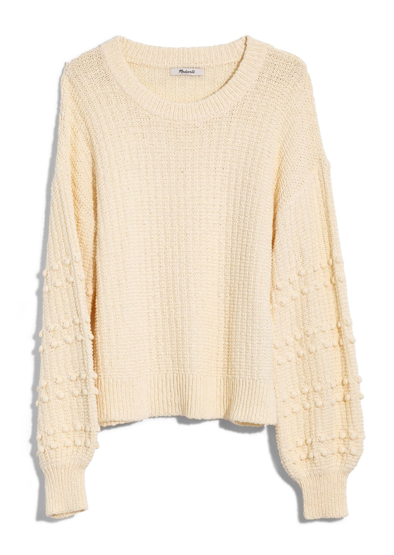 Madewell Bobble Sweater
