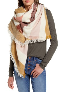 Madewell Bold Stripe Blanket Square Scarf (Nordstrom Exclusive)
