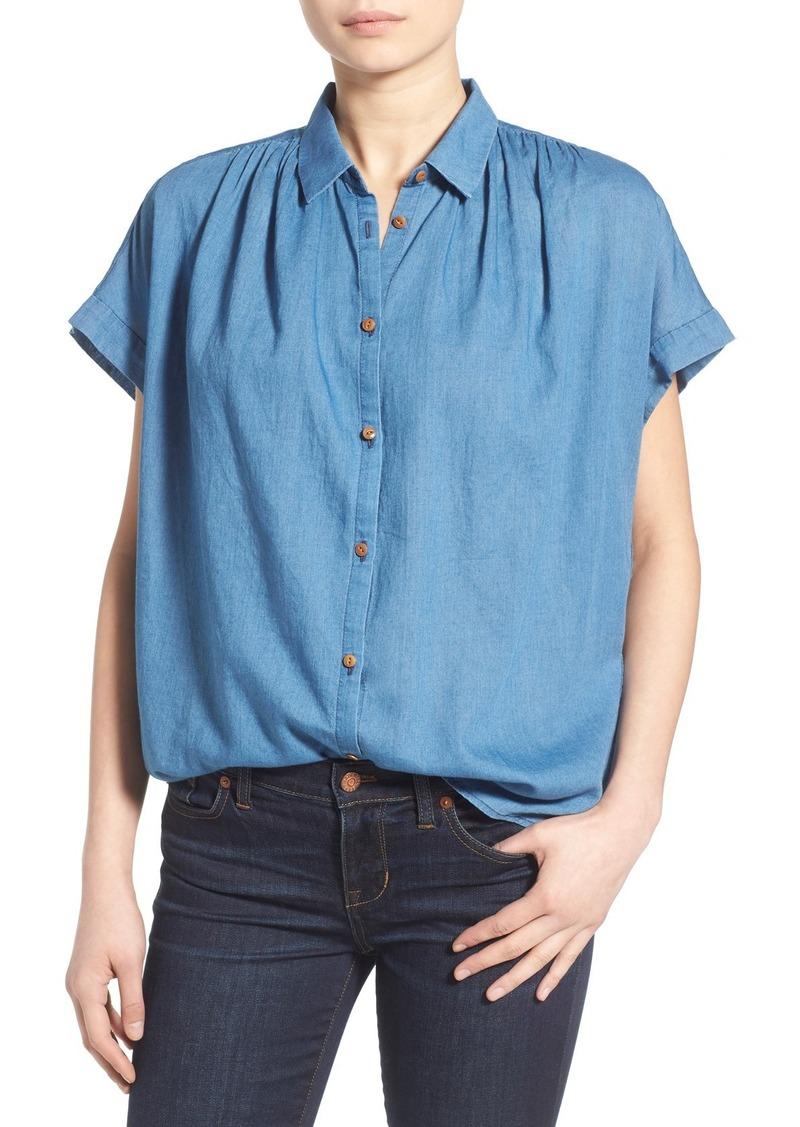 de0741ca Madewell Madewell Central Shirt Now $41.70