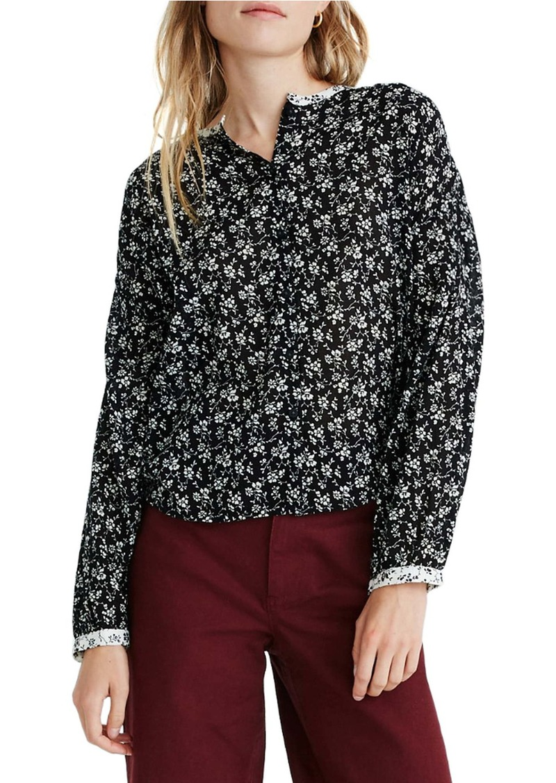 Madewell Branch Floral Mixed Print Meadow Shirt