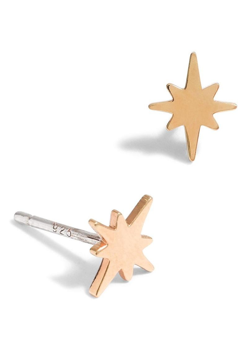 Madewell Bright Star Vermeil Stud Earrings