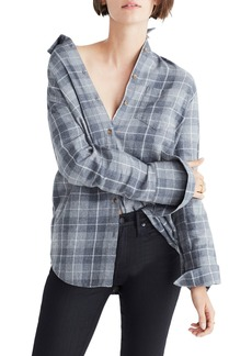Madewell Bristol Plaid Flannel Shirt