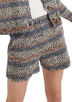 Madewell Broadway Stripe Sweater Shorts