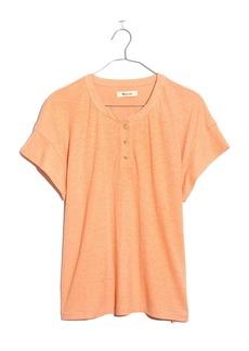 Madewell Brother Hemp & Cotton Henley T-Shirt