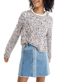 Madewell Brownstone Flecked Sweater