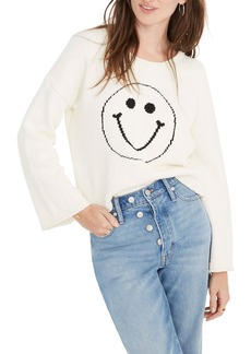 Madewell Brownstone Smiley Face Pullover