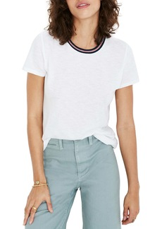 Madewell Bryne Stripe Whisper Cotton Ringer Tee