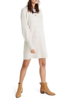 Madewell Bubble Sleeve Sweater Dress