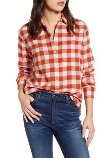 Madewell Buffalo Check Flannel Oversize Ex-Boyfriend Shirt