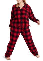 Madewell Buffalo Plaid Flannel Bedtime Pajamas