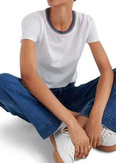 Madewell Burbank Stripe Ringer Whisper Cotton T-Shirt