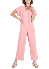 Madewell Button Front Day Jumpsuit