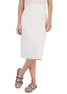 Madewell Button Slit Midi Skirt