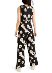 Madewell Button Waist Wide Leg Linen Jumpsuit