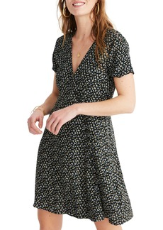 Madewell Button Wrap Dress
