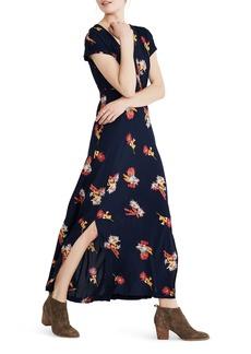 Madewell Cactus Floral Maxi Dress