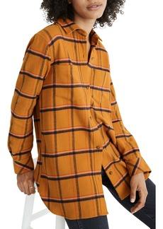 Madewell Caffrey Plaid Flannel Ex-Boyfriend Shirt