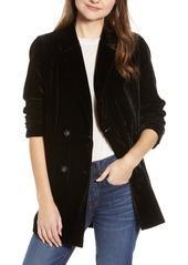 Madewell madewell caldwell velvet double breasted blazer abvfa890dfd a