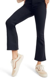 Madewell Cali Demi-Boot Jeans (Black Frost)